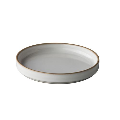 Bord laag diam 15cm japan wit q authentic