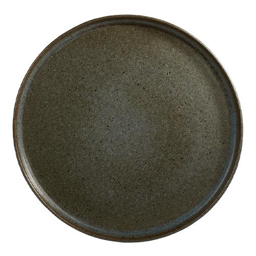 Bord diam 26.5cm stonegreen q authentic