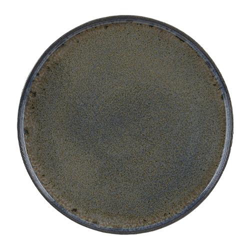 Bord diam 26.5cm stoneblue q authentic