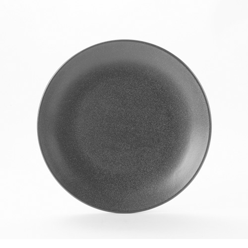 Coupe bord diam 28cm graphite porcelite seasons