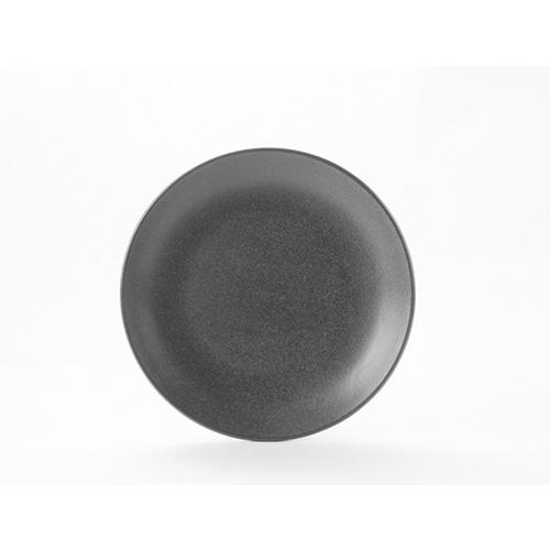 Coupe bord diam 18cm graphite porcelite seasons