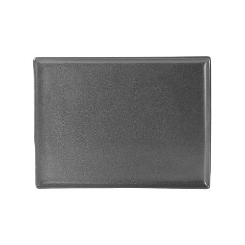 Bord rechthoekig afm 35x26cm graphite porcelite seasons