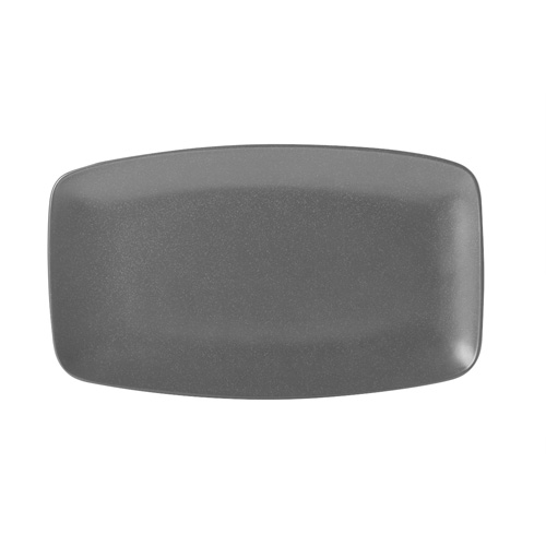 Bord rechthoekig afm 31x18cm graphite porcelite seasons