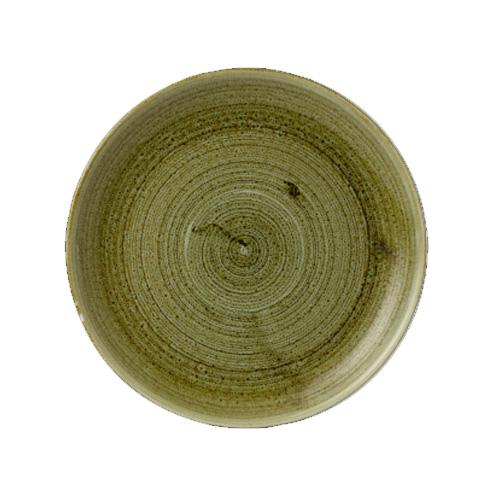 Bord coupe evolve stonecast plume groen