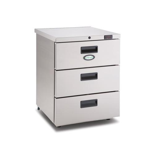 Onderbouw koelkast 3 lades HR1503D Foster